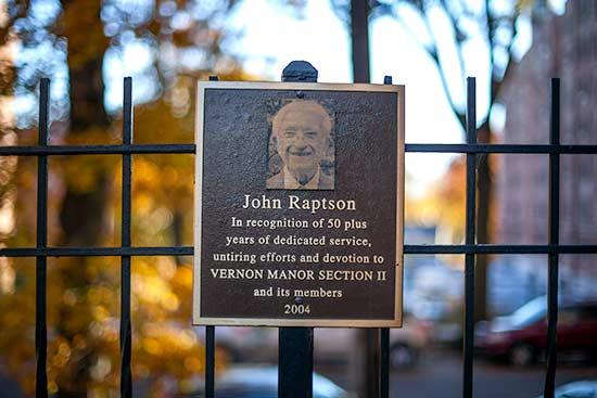 Tribute to Longtime Resident John Rapston