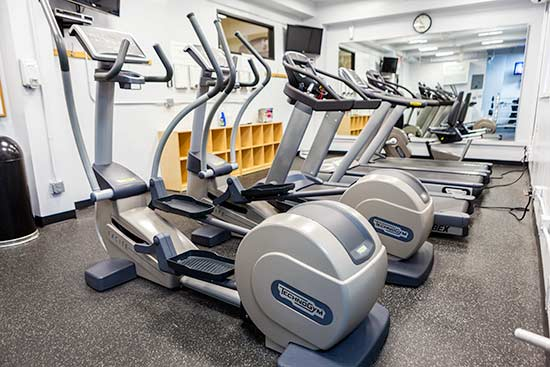 Elliptical Machines and Running Machines