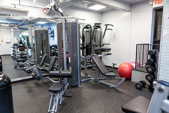 Weight Machines in the Gym